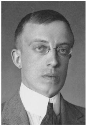 Författaren och journalisten Erik Grotenfelt (1891-1919).