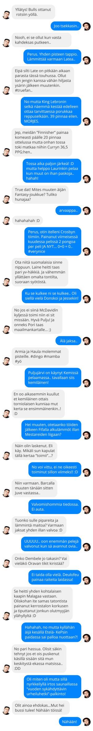 chat keskustelu