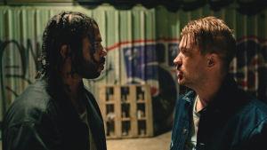 Blindspotting-leffassa pääosissa ovat Daveed Diggs ja Rafael Casal.