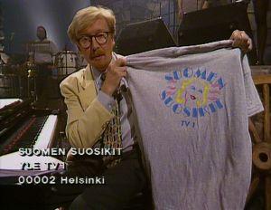 """""""Kaikki ne, joiden toiveet minä luen, saavat muistoksi tällaisen komean t-paidan."""""""