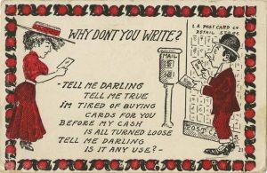 Ett postkort från början av 1900-talet.