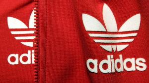 Sportklädtillverkaren Adidas logo