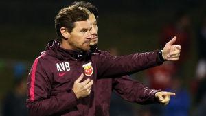 Andre Villas-Boas var tränare i Shanghai 2016-2017.