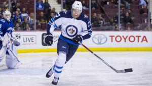 Patrik Laine gjorde mål mot Vancouver.