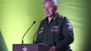 Rysslands försvarsminister Sergej Sjojgu