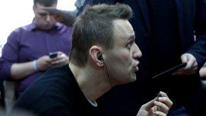 Aleksej Navalnyj i domstol i Moskva 27.3.2017