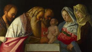 Giovanni Bellini (c. 1500). The Circumcision of Christ