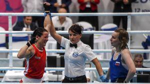 Mira Potkonen slog Anastasia Beljakova i EM-finalen i Sofia.