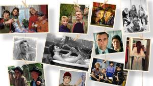 Kollaasi, jossa kuvia draamaohjelmista Fakta homma, Kovaa maata, Rakastuin mä luuseriin, 16, Aliisa, Pakanamaan kartta, Pesäriiko, Siivoton juttu, Mobile Horror ja Tarkkis