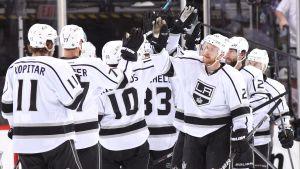 LA Kings ångar på i NHL-slutspelet.