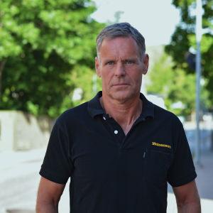 Porträttbild på roddaren Bernt Degerlund.
