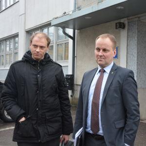 Anders Walls och Tom Simola.