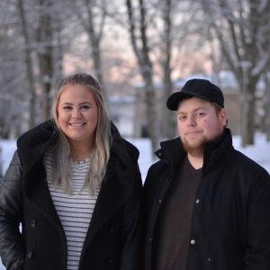 Josefina Linnokari och Anders Wiksten.