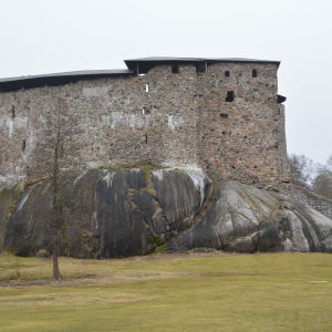Raseborgs slottsruiner.
