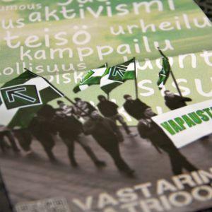 Finska motståndsrörelsens pamflett.