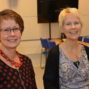 Kristina Gröning-Johansson är socialarbetare vid Raseborgs familjecenter och Birgitta Udd är ungdomsarbetsledare i Karis-Pojo församling.
