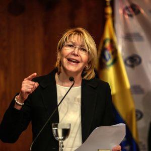 Venezuelas chefsåklagare Luisa Ortega.