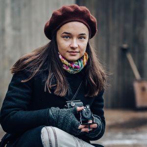 Olivia, innokas valokuvaaja