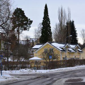 Trähusområde i Karis