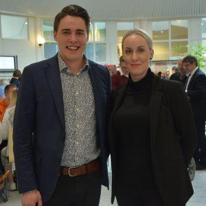 Christoffer Ingo och Heidi Svartsjö