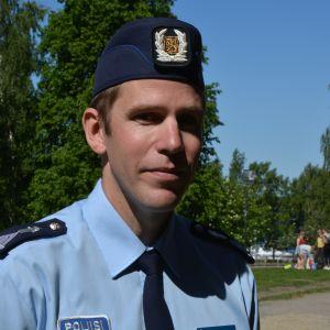 Mikael Appel, polisen i Österbotten