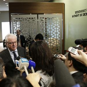 Rysslands FN-ambassdör Vitalij Churkin.