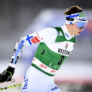 Eero Hirvonen, Lahtis januari 2017.