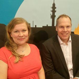 Karin Palmén och Johan Hultkrantz