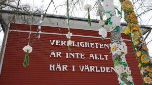 Garnbomning på Strömsö.