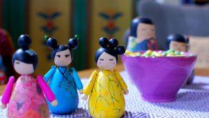 Asiatiska dockor