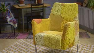 Virkattu tuoli, Strömsö.