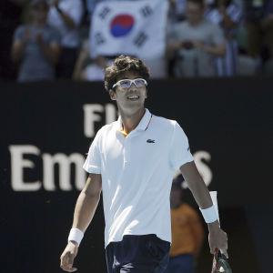 Hyeon Chung, AO 2018.