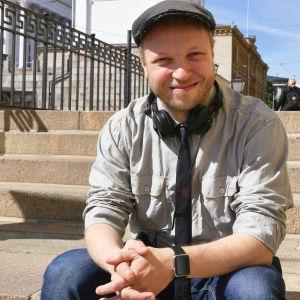 Yle Draaman Presidentti-sarjan ohjaaja Lauri Nurkse.