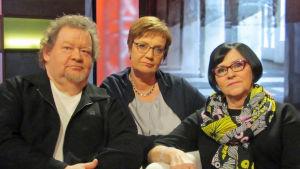 Kari Teittinen, Hilla Blomberg, Marketta Miettinen