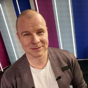 Kuva Patrik Borgista Puoli seitsemän studiossa 30.1.2018
