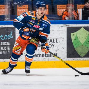 Tomas Zaborsky spelar ishockey för Tappara.