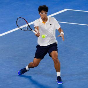 Hyeon Chung slog ut självaste Novak Djokovic.