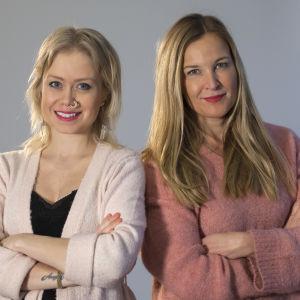 Ida Henrikson och Anne Hieatnen