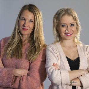 Ida Henriksson och Anne Hietanen