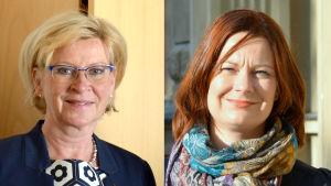 Ulla Achrén och Mminna Arve.