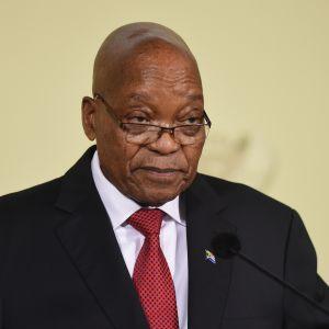 Den korruptionsanklagade Jacob Zuma avgick på tisdag efter hårda, långvariga påtryckningar från ANC