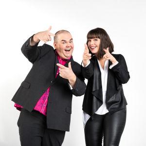 De Eurovisa: Eva Frantz & Johan Lindroos
