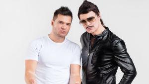 Günther och D'Sanz är med i Tävlingen för ny musik, UMK, 2017.