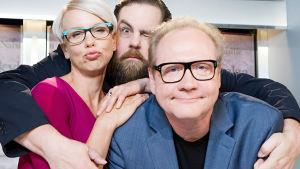 Kuvassa vasemmalta: Baba Lybeck, Stan Saanila ja Jari Tervo. Kuva: Laura Mainiemi.