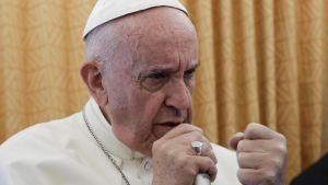 Påven Franciskus.