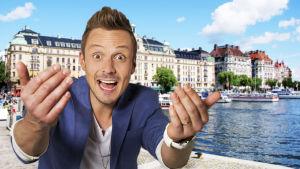 Jonathan Granbacka i Sverige