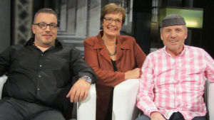 Markus Huhtanen (vas.), Hilla Blomberg, Jari Ihalainen