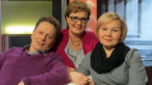 Juha Pieksämäki, Hilla Blomberg, Minttu Väisänen