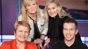 Päivi Kärkkäinen johtaa Kansallisoopperaa, Mikko Kuitunen on pomottoman firman toimitusjohtaja ja Melina Niemi oli Nuorten Leijonien mentaalivalmentaja.