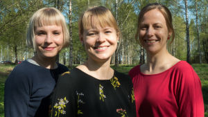 Ulla Broholm, Jutta Mattsson, Henna Kaunisto